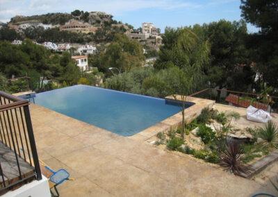 Infinity pool in Coveta Fuma – Alicante