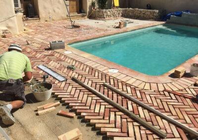 8 x 4 Swimming Pool – Rustic look